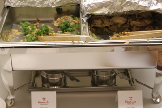 catered food