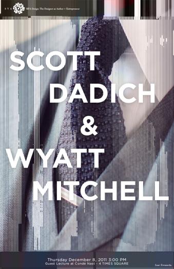 scorr dadich and wyatt mitchell poster