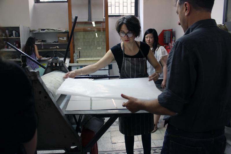letter pressing workshop