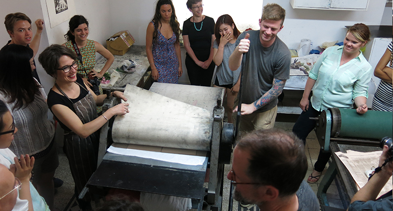 silkscreen workshop