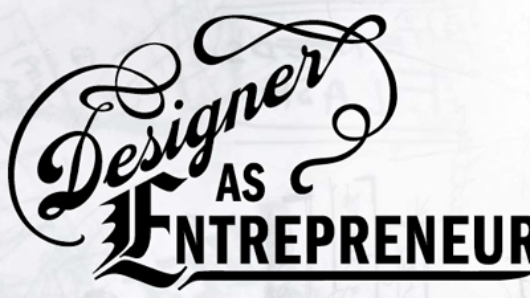 typography of designer as entrepreneur