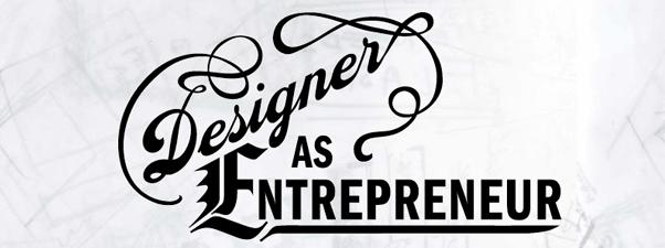 typography of designer as entrepreneur