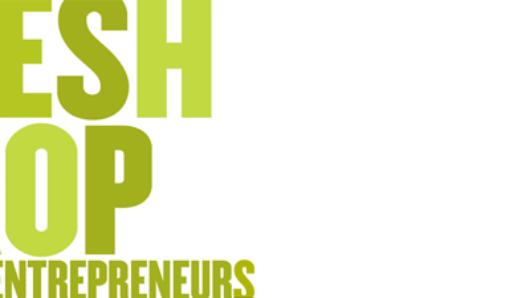 typography of fresh crop design entrepreneurs