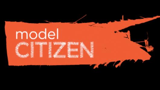typography logo of Model Citizen