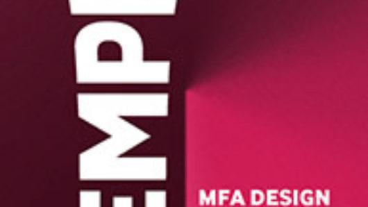 poster of SVA MFAD 2015 Emprise venture