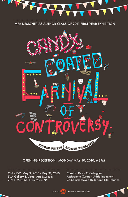 poster of Candy Coated Carnival of Controversy