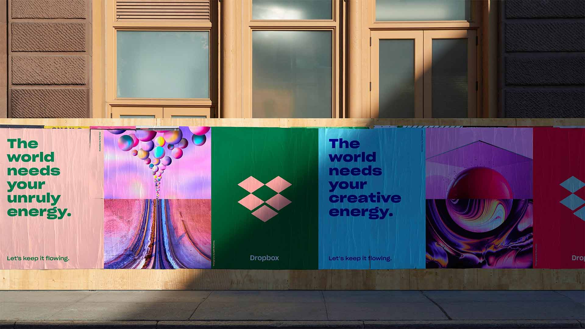 dropbox ad from Collins studio