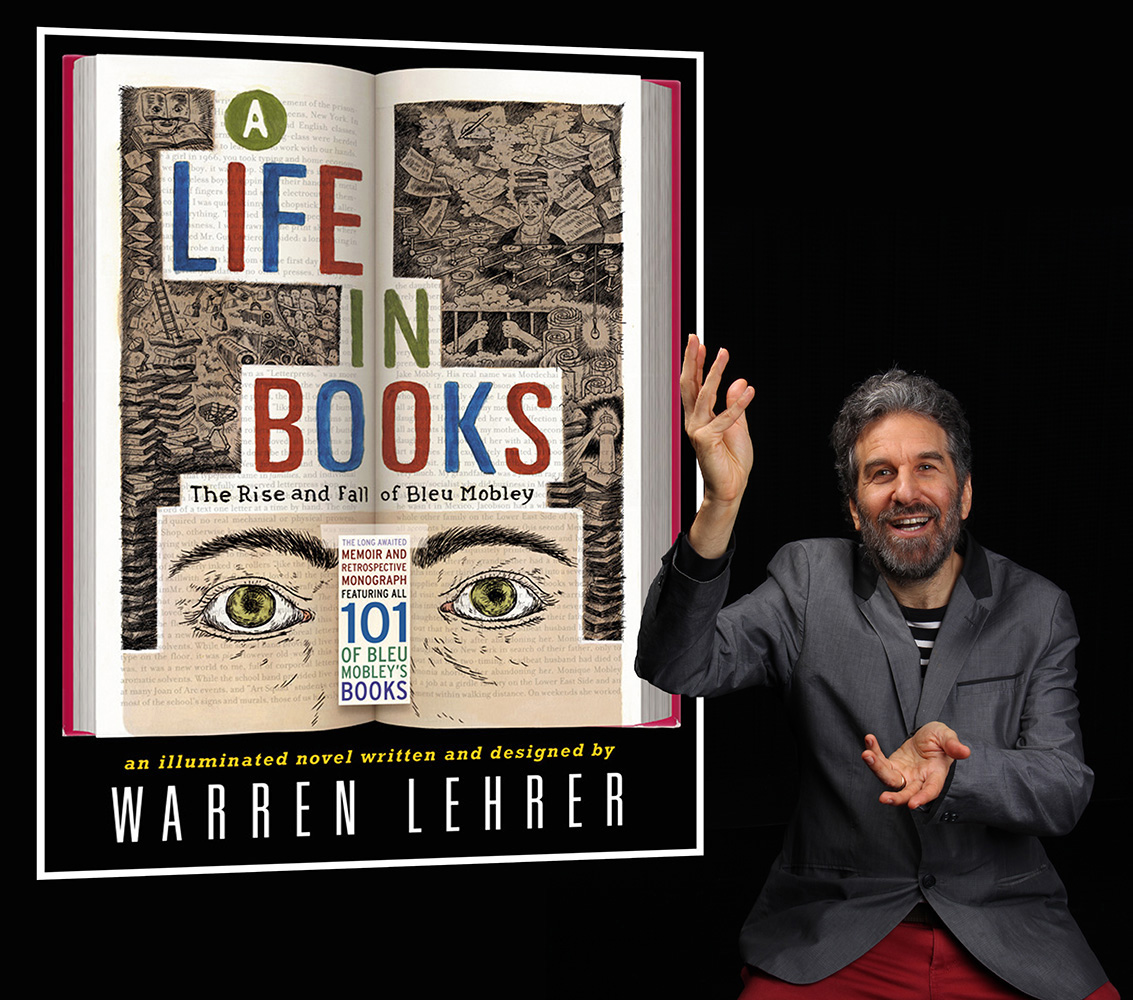 Lehrer performs A Life In Books