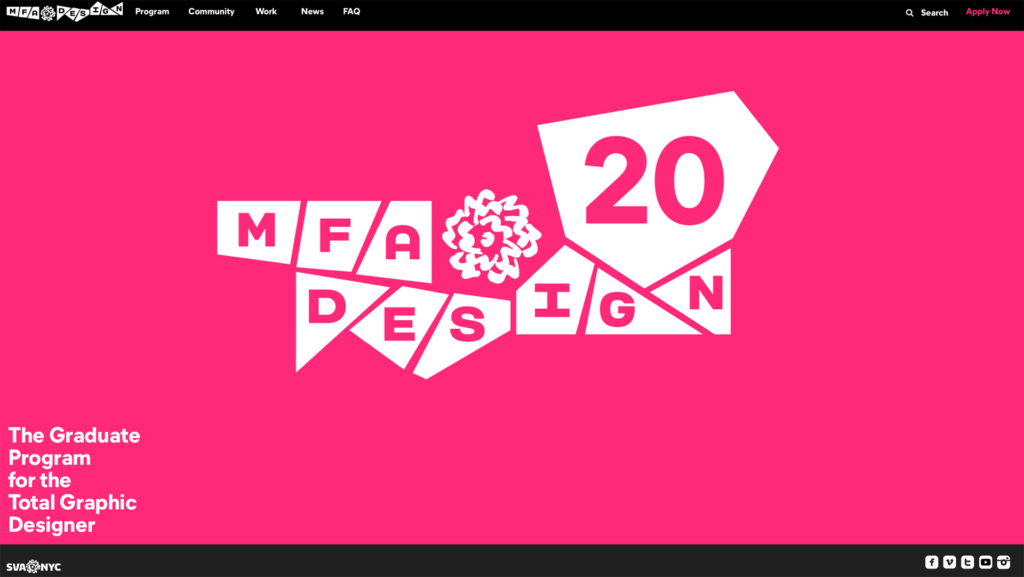 MFA Design website
