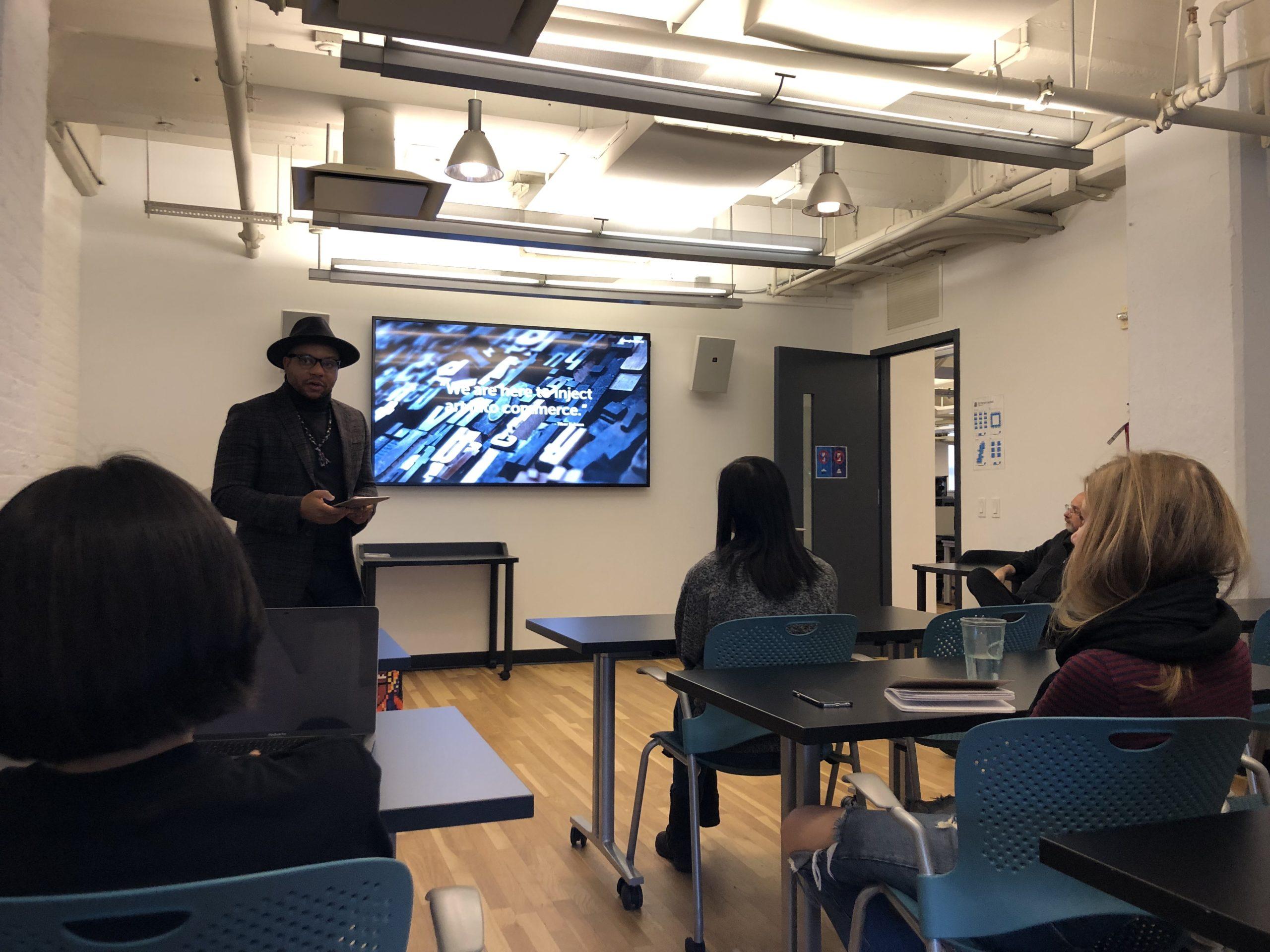 Douglas Davis guest lecture
