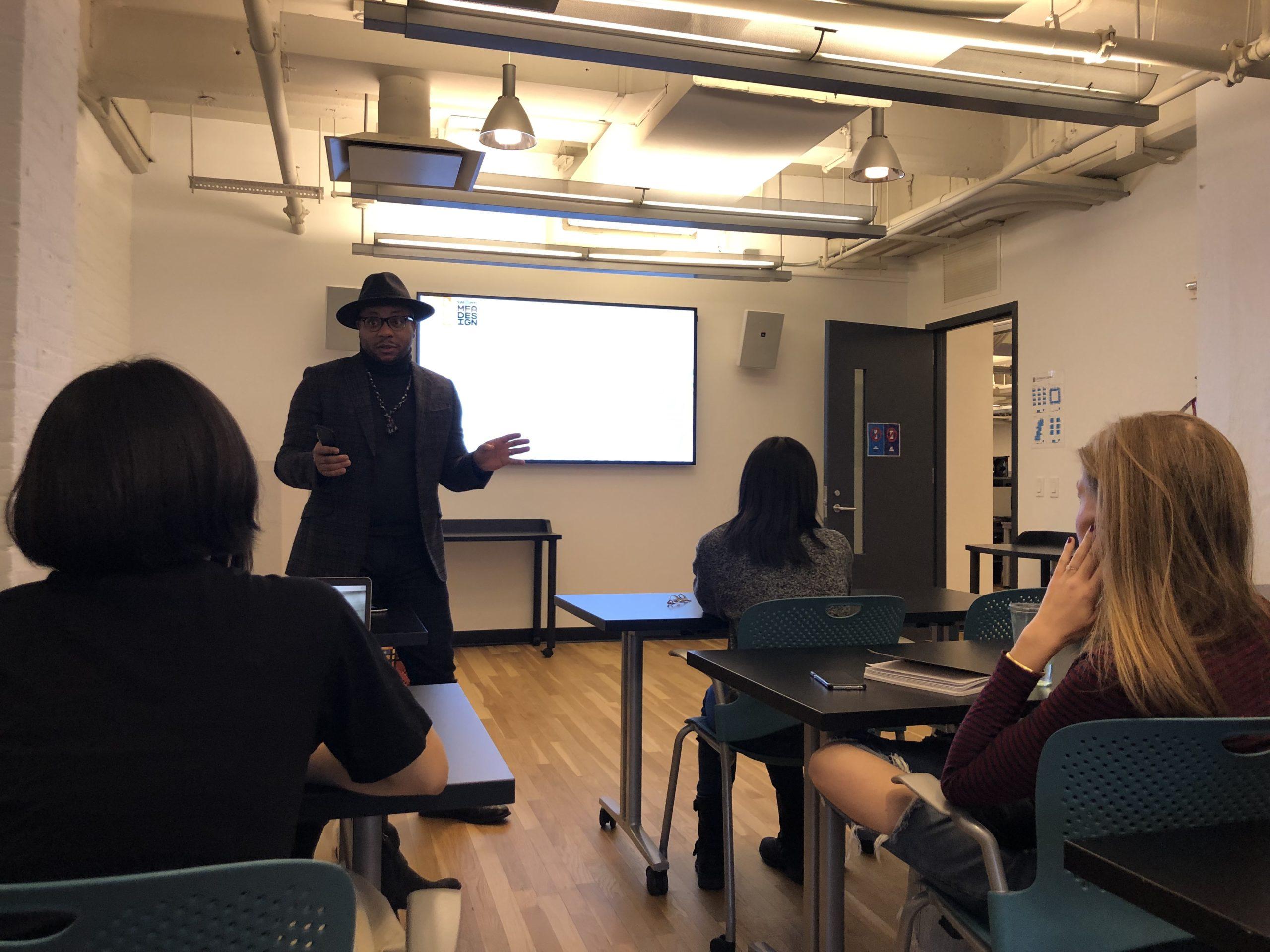 Douglas Davis' guest lecture