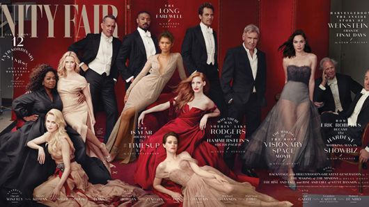 vanity Fair hollywood stars layout