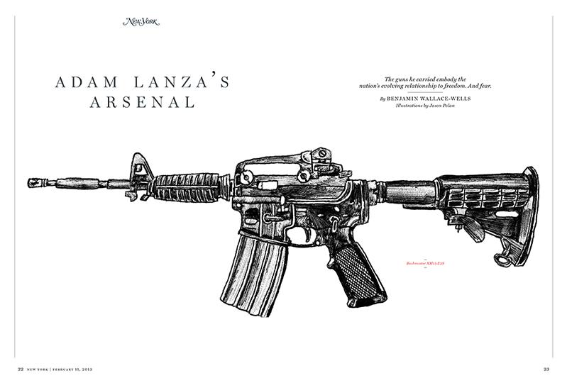 Adam Lanza;s arsenal design