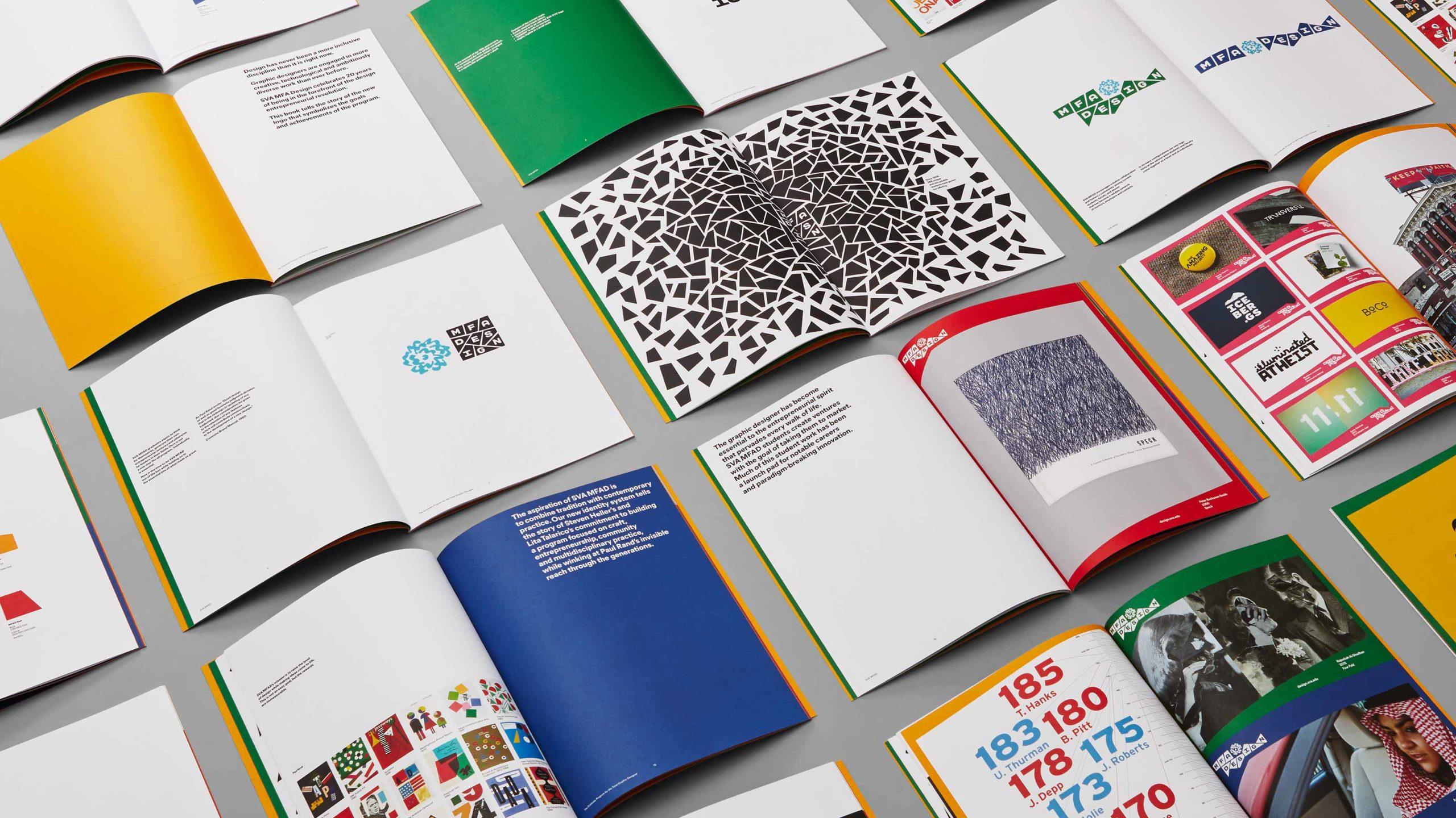MFA Design inspiration guide contents