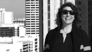Melissa Gorman on rooftop