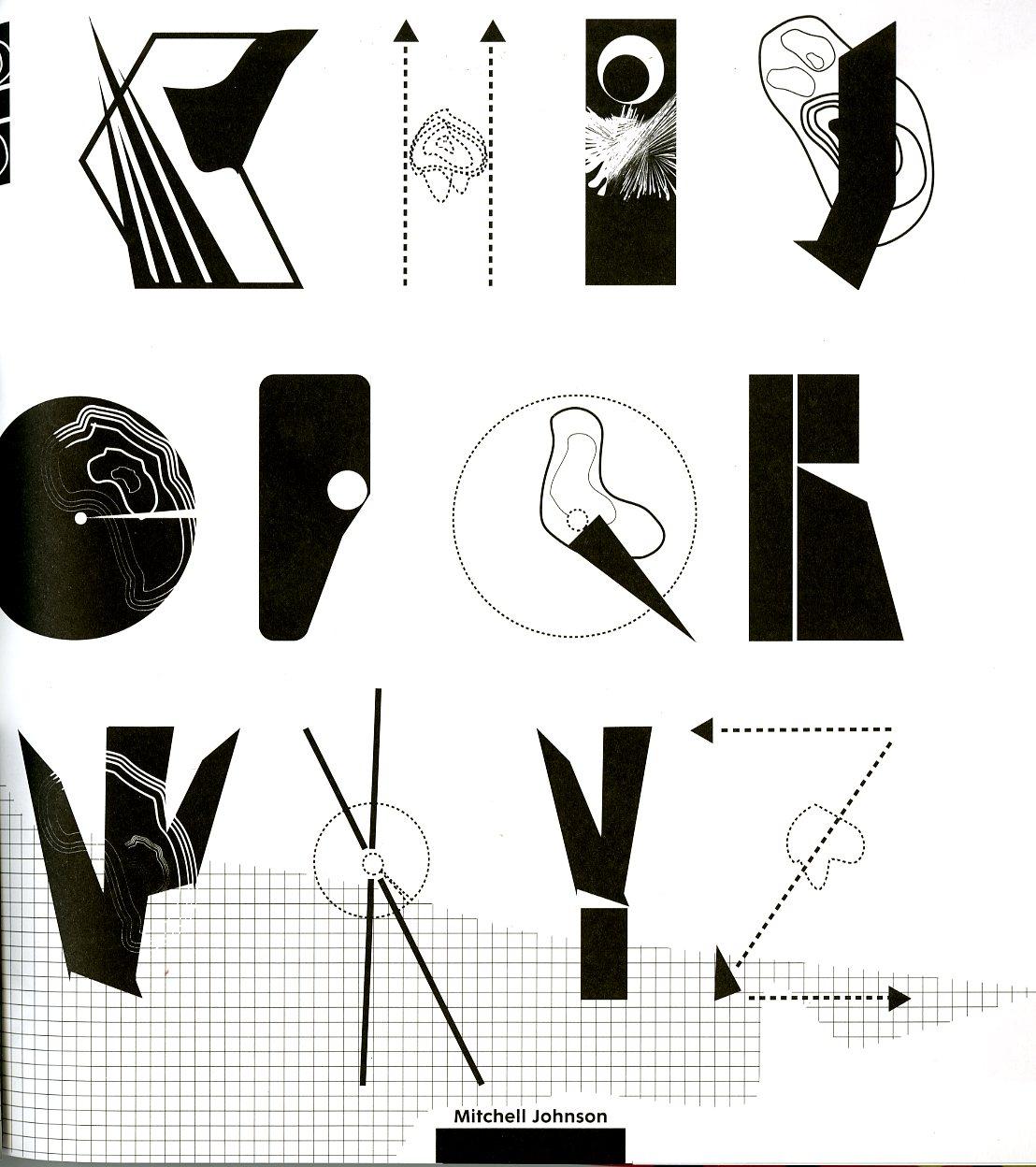 surrealistic typography design