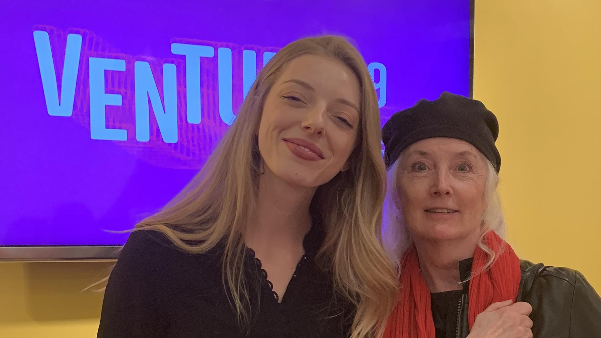 Ada Whitney and Julia Marsh