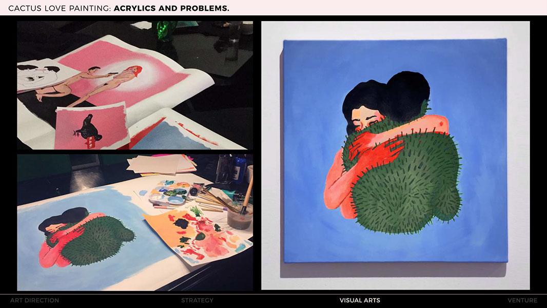 Sarah Tamani art