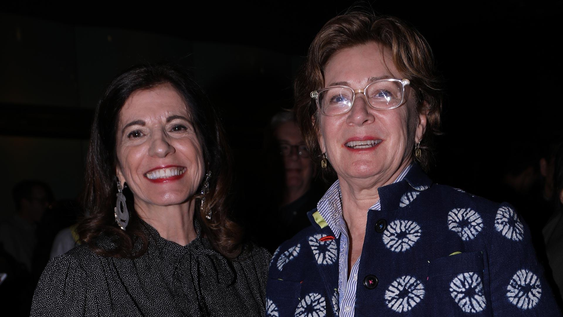 Lita Talarico and Gael Towey