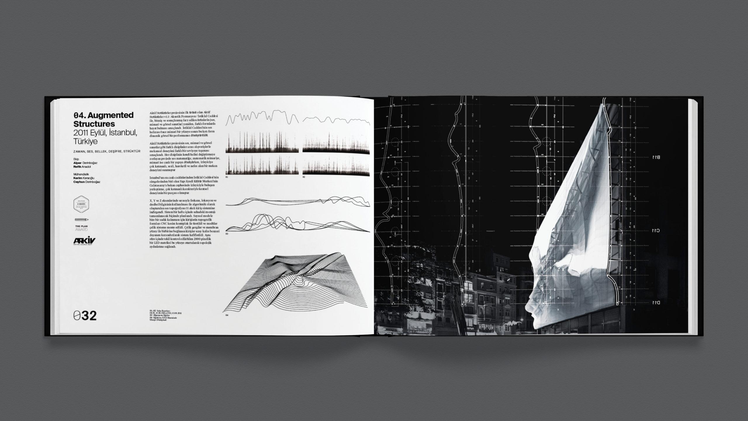 infographic brochure spread