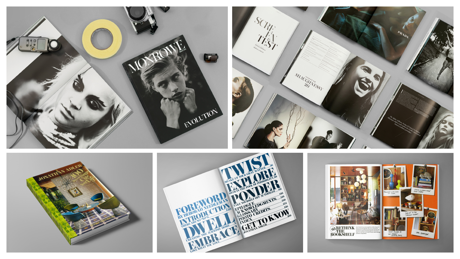Jd&co. editorial and publishing work
