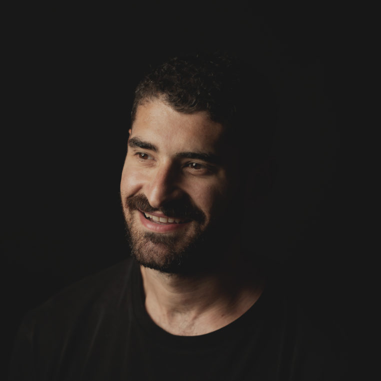 portrait of Adam Katz smiling