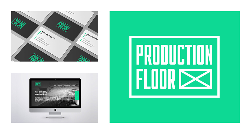 production floor identity designed by Yifat Anzelevich
