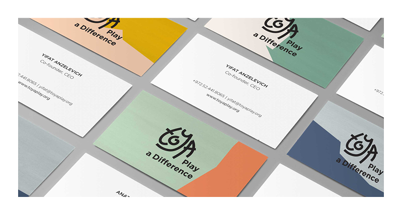 toya business cards