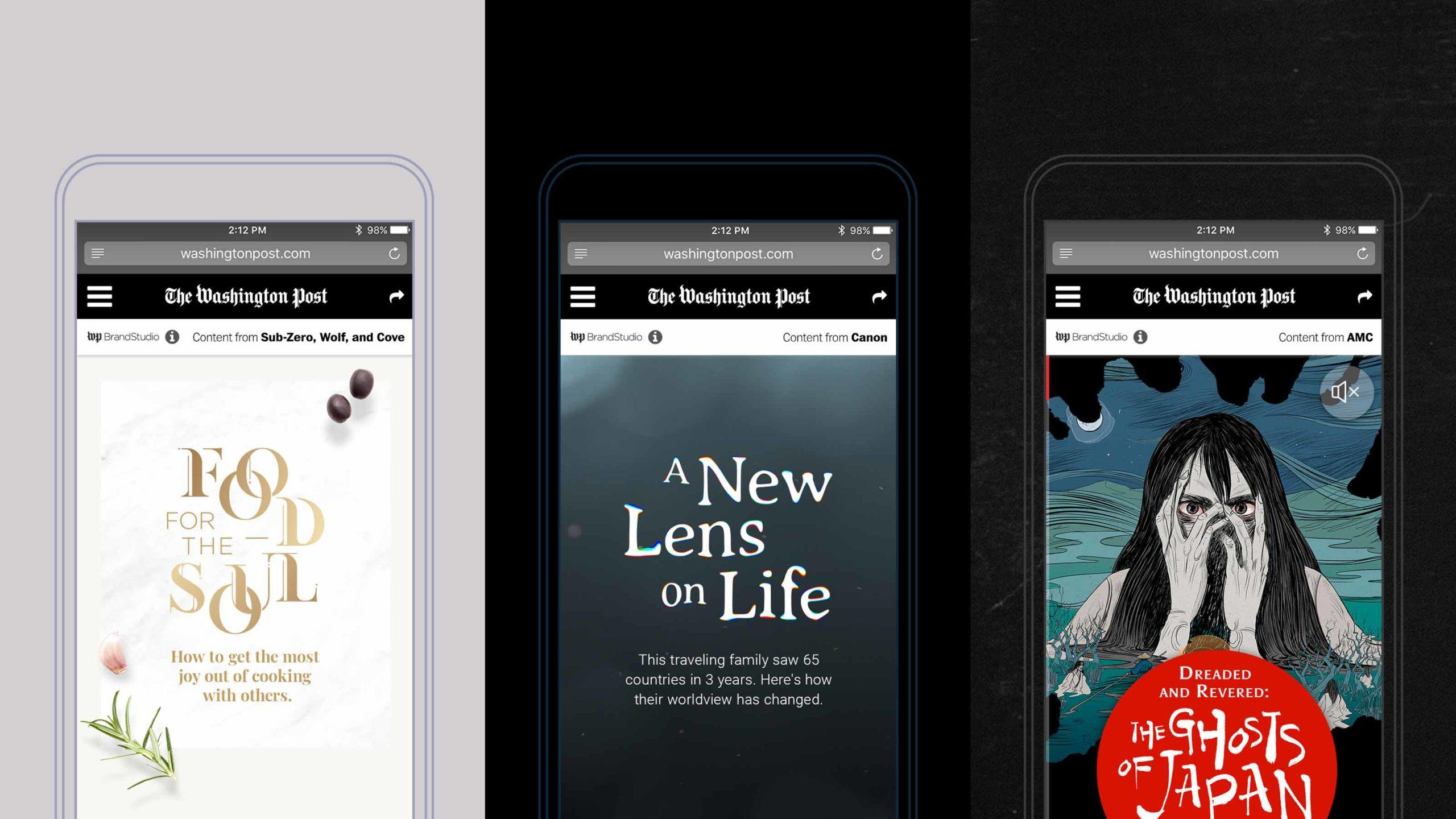 The Washington Post mobile application