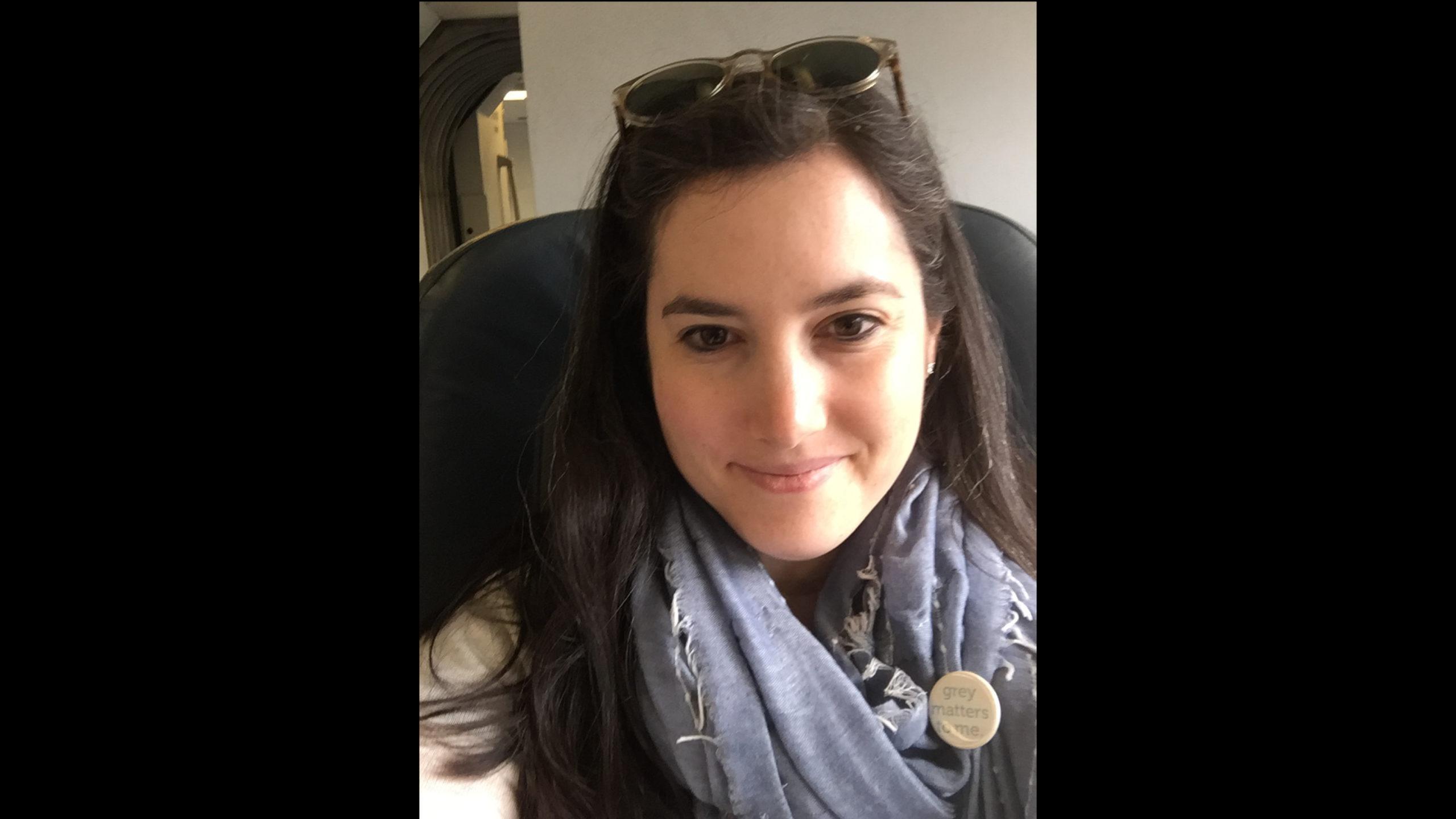 Jenny Rozbruch selfie