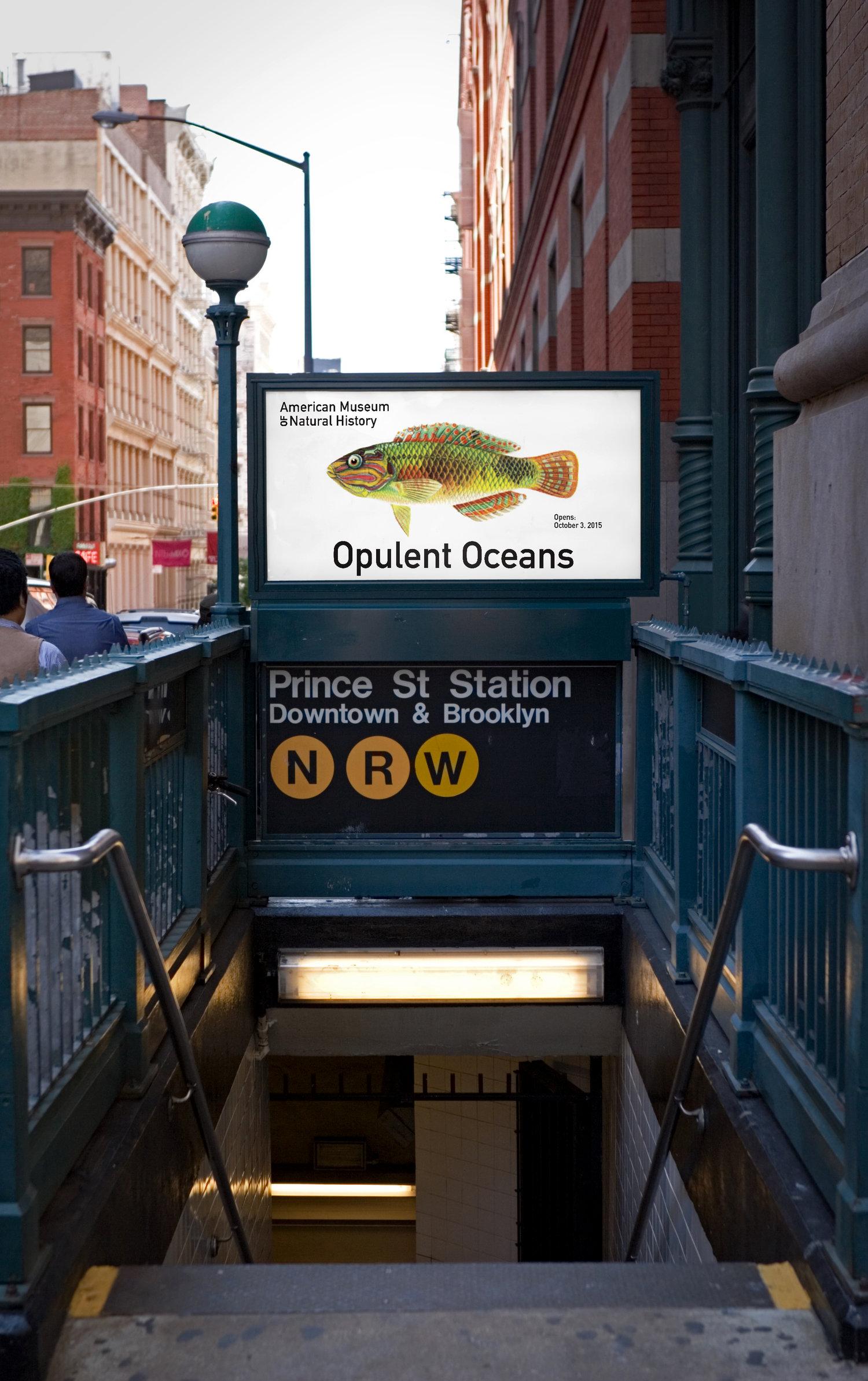 Tracy Huang subway poster
