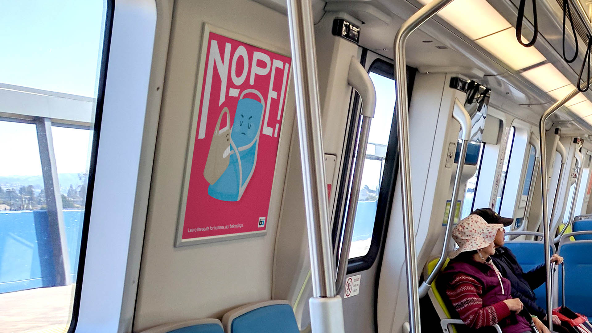 BART posters