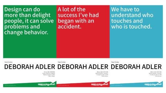 Deborah Adler talk
