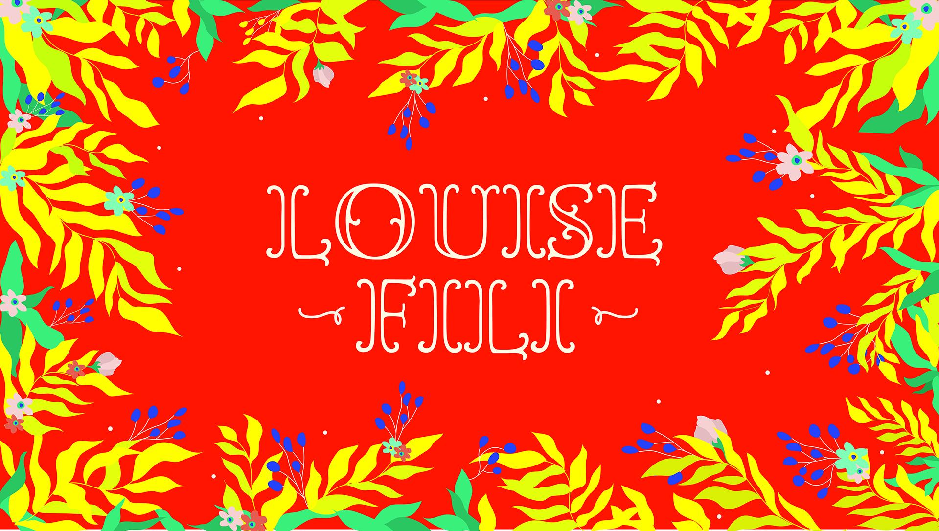 Louise Fili lecture announcement
