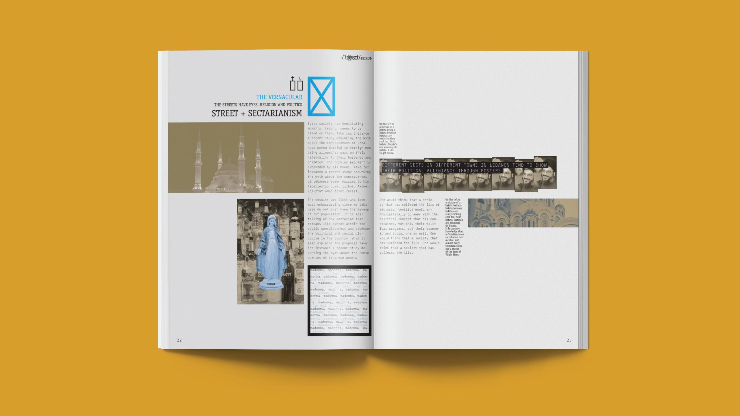 Renee Freiha magazine spread