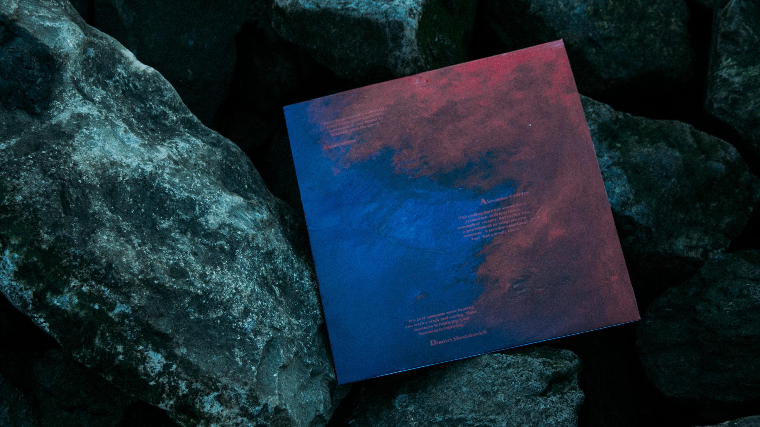vinyl cover on rocks
