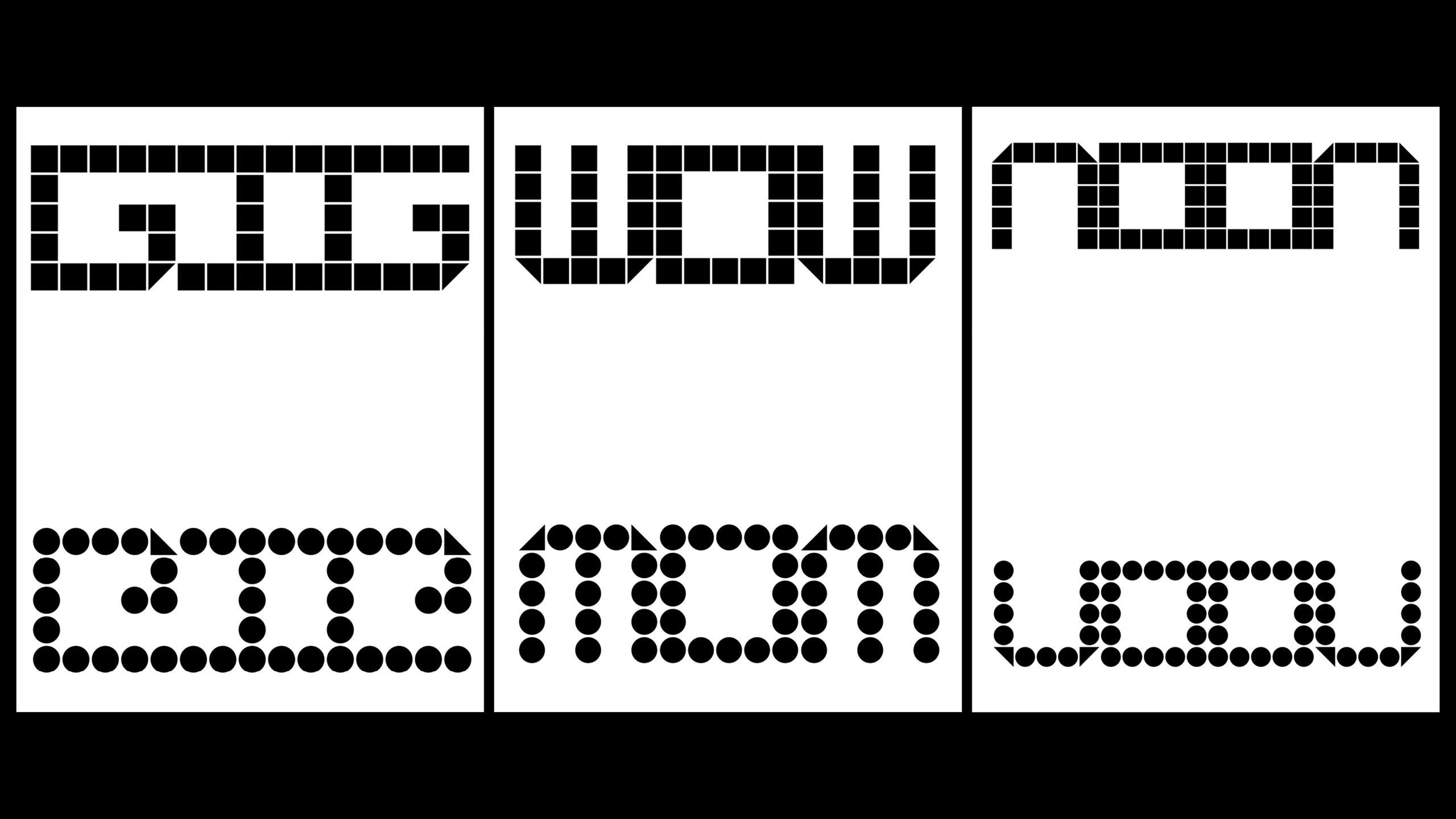 typography by Jumi Kim