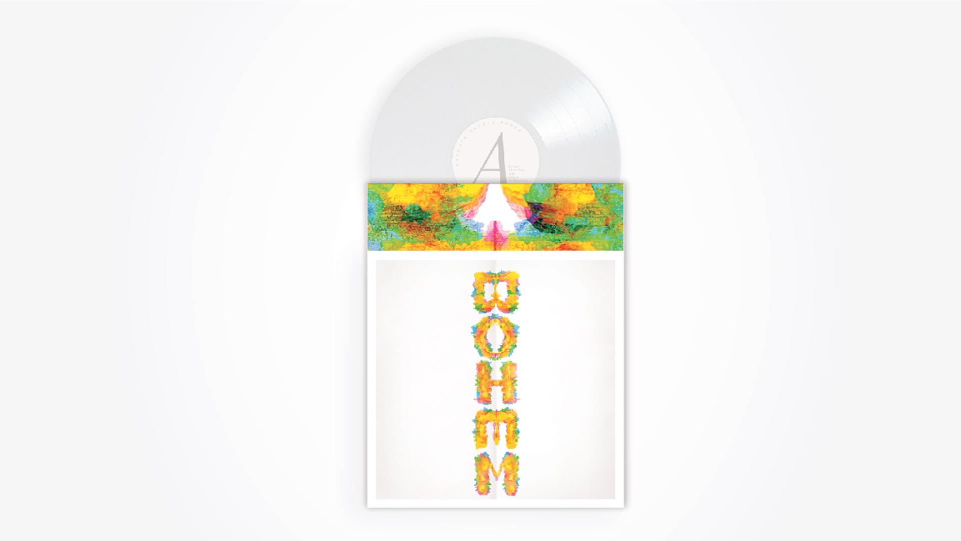 Bohem album packaging