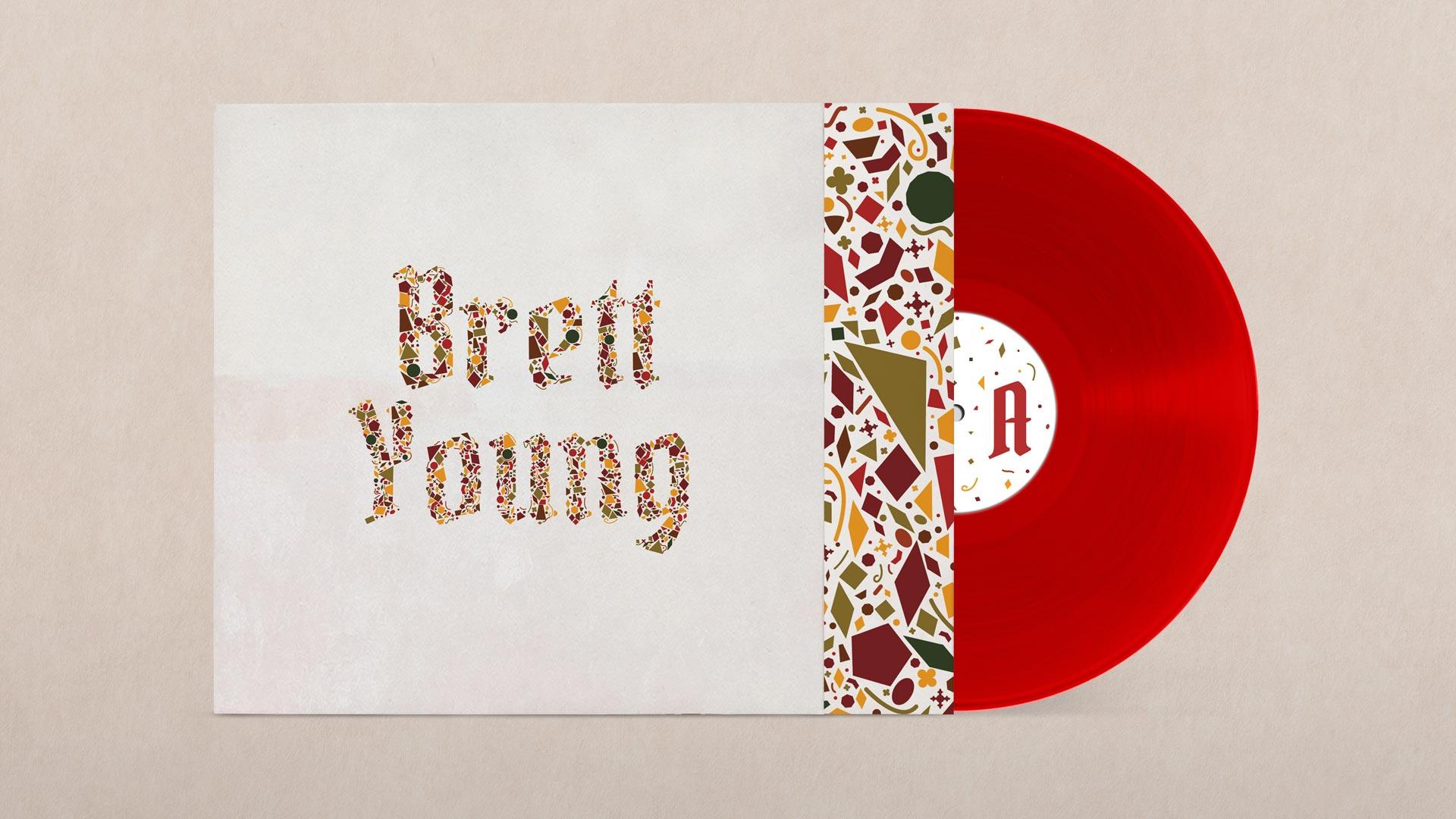 Brett Young album packaging