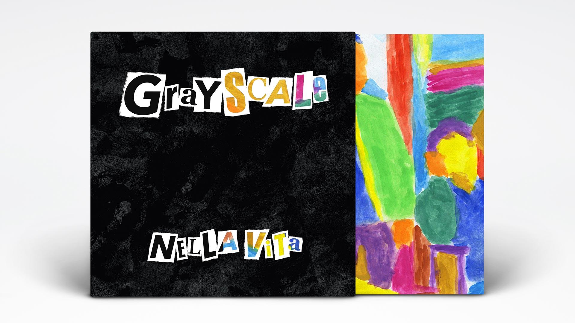 Grayscale Nella Vita vinyl cover and sleeve