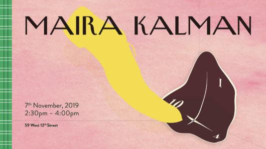 Maria Kalman lecture visual