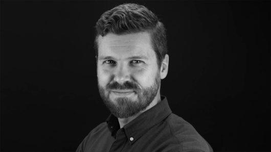 Tim Cohan portrait on black background