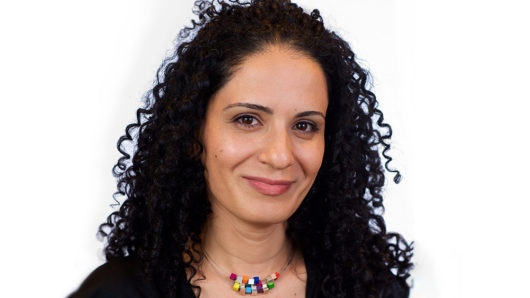 portrait of Meital Gueta on white background