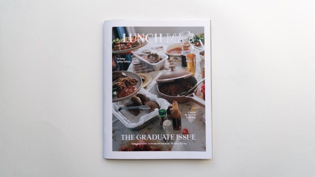 Lunch Mag cover