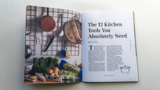 magazine sample 12 kitchen tools you absolutely need