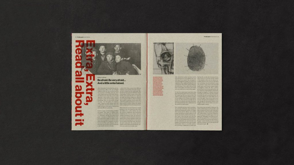 Catreen Yoon - magazine sample