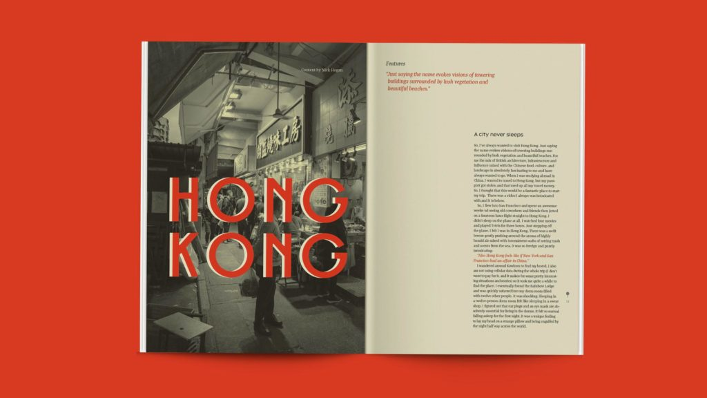 Vicky Chong - magazine sample