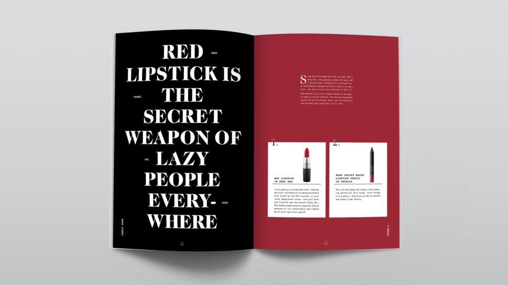 Xi Lu - magazine sample