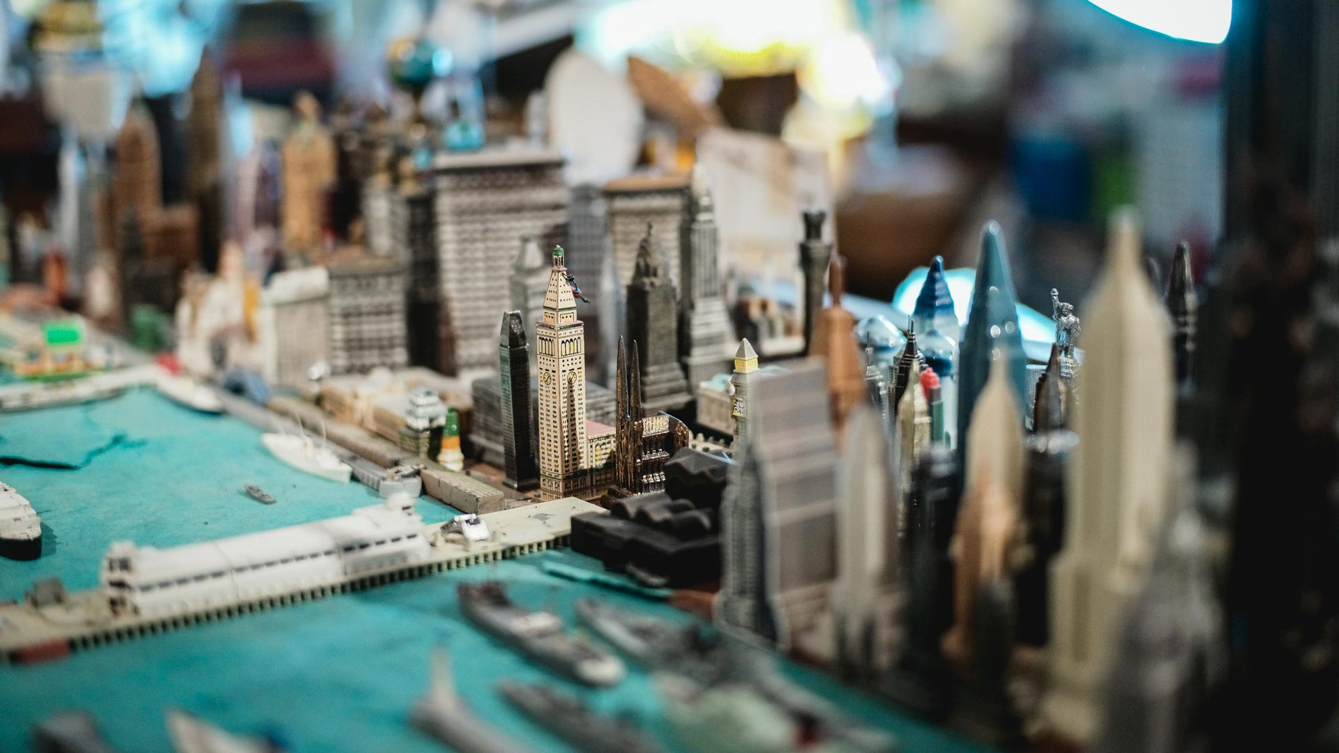 dorothy globus studio miniature city sculpture