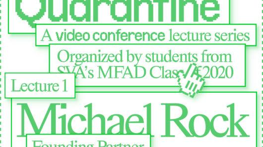 Lectures in Quarantine promo visual